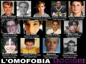 vittime omofobia